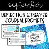Prayer Journal - September