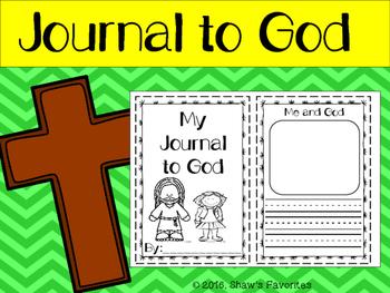 Prayer Journal to God