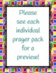 Prayer Pack BUNDLE - Catholic