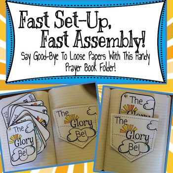 Prayer Pockets: The Glory Be!