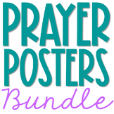 Prayer Posters Bundle - Color Set of 7