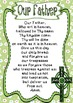 Prayer Posters ~ Catholic, Religious, Hail Mary, Our Father and more