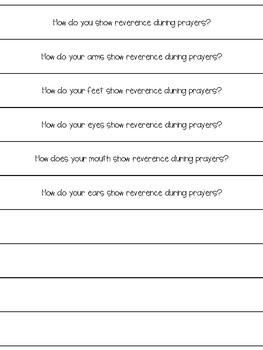 Prayer Questions