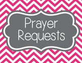Prayer Requests, Chevron