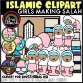 Prayer / Salah (Girl) Clipart