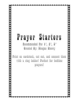Prayer Starters