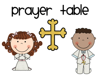 Prayer Table Kit