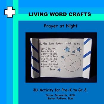 Prayer at Night for Pre-K – Gr.2