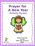 Prayer for A New Year Activity Pack