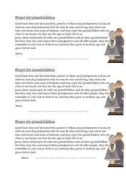 Prayer for Grandchildren