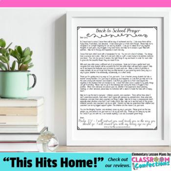 Back to School Prayer: A Prayer for Teachers