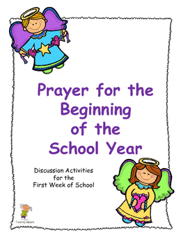 Prayer for the Beginning of the School Year