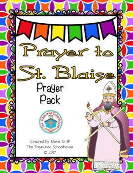 Prayer to St. Blaise Prayer Pack