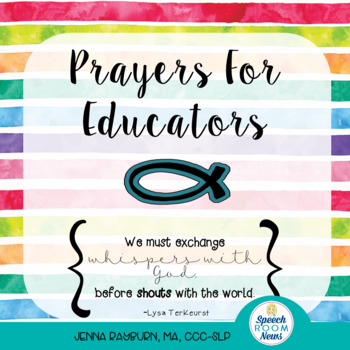 Prayers for Educators