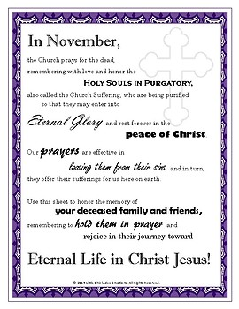 Prayers for Our Faithful Departed