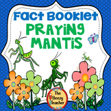 Praying Mantis Facts Booklet