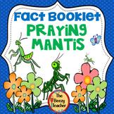 Praying Mantis Fact Booklet