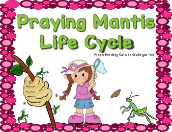Praying Mantis Life Cycle Pack with Observation Journal, Labeling Pages & More