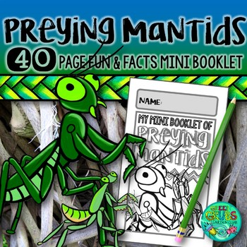 Praying Mantis Madness! {Fun & Facts about the Mantodea order}