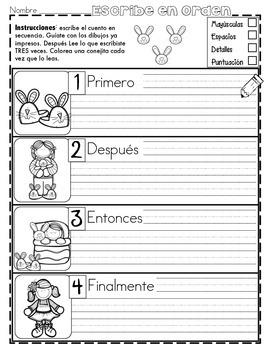 Práctica de secuencias con dibujos: el regreso a clases