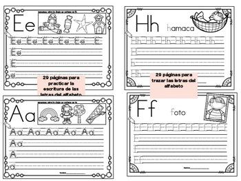 Yo puedo identificar letras y sonidos - Escritura de letras