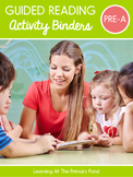 Pre A Small Group Activity Binders