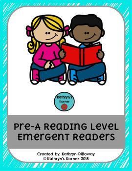 Pre-A Reading Level Emergent Readers