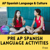 Pre AP Spanish Language (free resource)