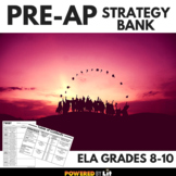 Pre-AP Strategy Bank, Graphic Organizers and Examples