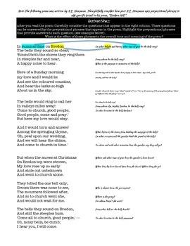 Pre-AP/Honors Grammar: Prepositional Phrases in Bredon Hill