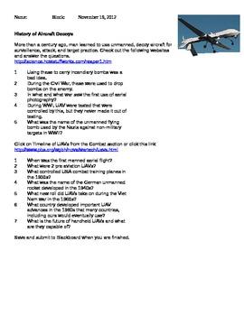 Pre Activity-Aircraft Decoys-The History of Aircraft Decoys
