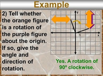 (8th) Rotations in a PowerPoint Presentation
