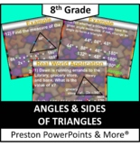 (8th) Angles of Triangles in a PowerPoint Presentation