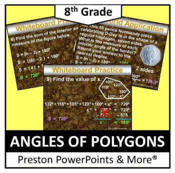 (8th) Angles of Polygons in a PowerPoint Presentation