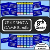 (8th) Quiz Show Game {Bundle} in a PowerPoint Presentation