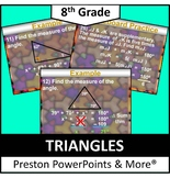 (8th) Triangles in a PowerPoint Presentation