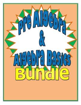 Pre-Algebra Activities Bundle