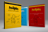 Pre-Algebra Adding, Subtracting and Word Problems Bundle Pack