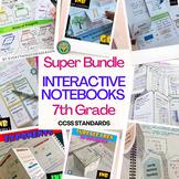PRE-ALGEBRA Interactive Notebooks - All Year- Super Bundle