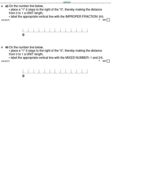 HS [Remedial] Pre-Algebra B UNIT 3:Mixed Numbers+ (4 worksheets; 7 quizzes)