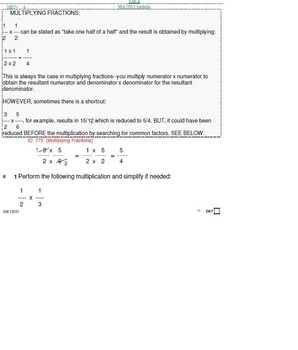 HS [Remedial] Pre-Algebra B UNIT 4:Multiply & Divide (4 worksheets; 6 quizzes)