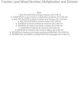 HS [Remedial] Pre-Algebra B UNIT 4:Multiply & Divide (4 wo