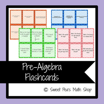 Pre-Algebra Bundle