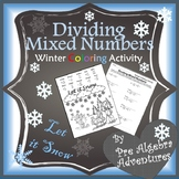 Christmas Fractions Worksheet {Fractions Christmas Activity}