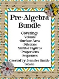 Pre-Algebra Concepts Bundle (25 Pages)