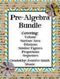 Pre-Algebra Concepts Unit (25 Pages)