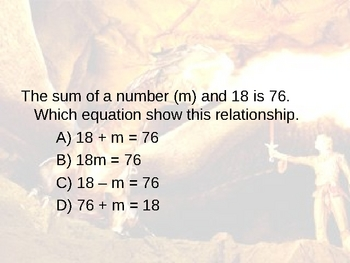 Pre-Algebra Course Overview Game
