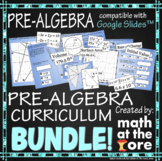 Pre-Algebra - Curriculum - BUNDLE - GOOGLE Slides