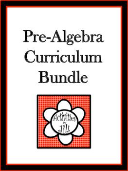Pre-Algebra Curriculum Bundle (All Year)