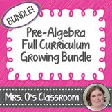 Pre-Algebra Full Curriculum Growing Bundle